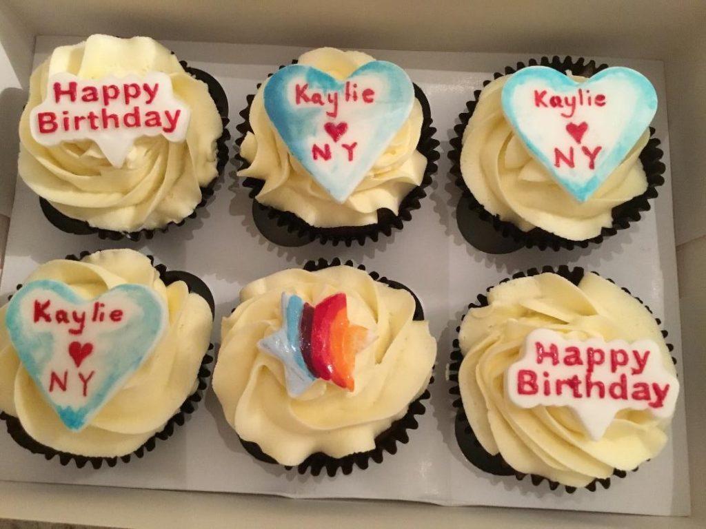 Night Owl Cakery - Kaylie's birthday cupcakes 2.